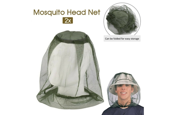 Head Net Hat Fly Mosquito Protector
