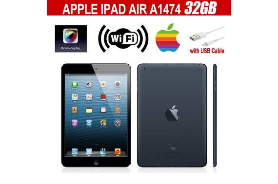Refurbished Apple iPad Air 1st Gen. A1474 32GB Wifi Only