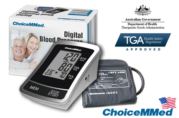 ChoiceMMed Automatic Upper Arm Digital Blood Pressure Monitor