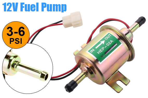 Universal 12V Electrical Fuel Priming Pump HEP-02A