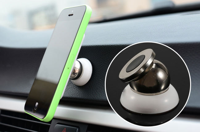 New Magnetic Mobile Phone Car Mount Kit