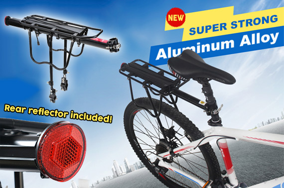 Bicycle Rear Seat Pannier Rack