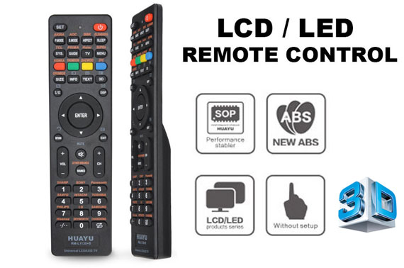 Universal LCD/LED/3D TV Remote For Samsung/Panasonic/TCL/TOSHIBA/PHILIPS/JVC