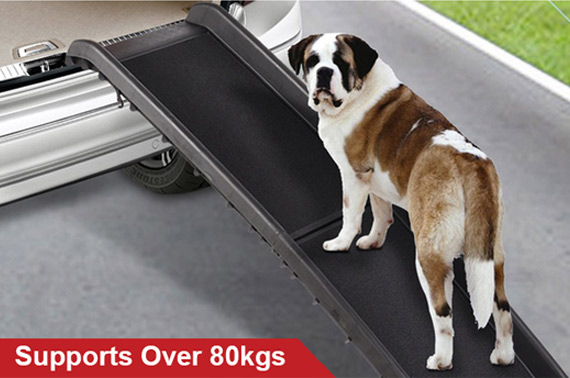 Portable Folding Dog Pet Ramp Step Ladder