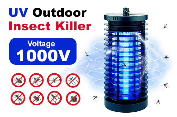 Sansai 6W UV Blue Light Insect Pest Mosquito Fly Killer