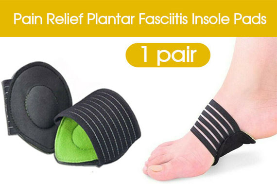Free Ozstock Deal: Foot Heel Pain Relief Plantar Fasciitis Insole Pads & Arch Support Shoes