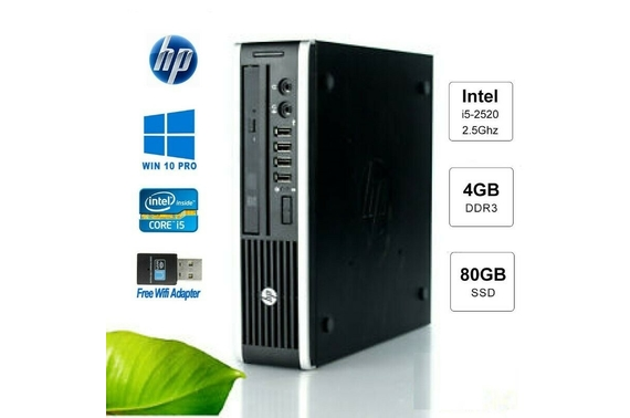 Refurbished HP 8200 Ultra Small Form Fact (USFF) Desktop PC
