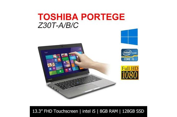 Refurbished Toshiba Portege Z30T 13.3