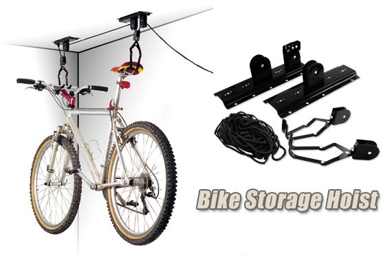 Bike Pulley Hoist Racks Storage System
