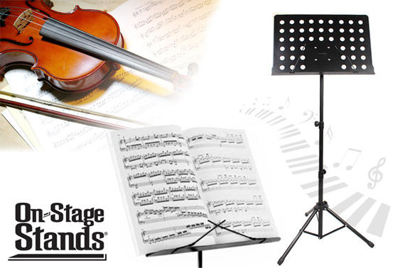 Heavy Duty Adjustable Professional Music Sheet Stand