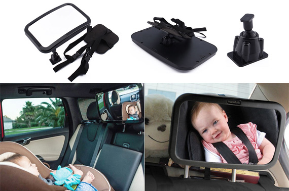 Car Baby Seat Rear View Back Mirror