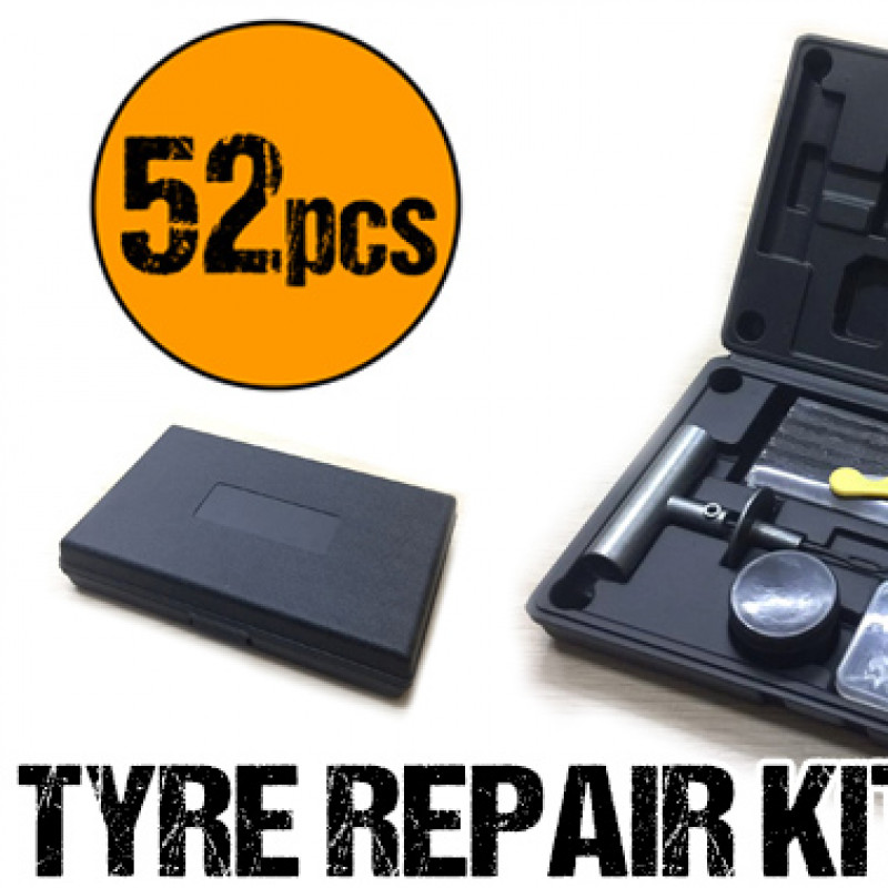 52PCS Tyre Puncture Repair Recovery Kit