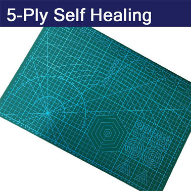 A2 Large Thick Self Healing Cutting Mat Double-Side Art Craft DIY
