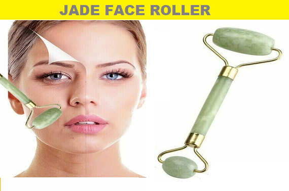 Online Special - Jade Face Massager Roller Body Eye Neck Hand