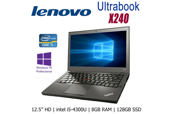 Refurbished Lenovo X240 4th Gen. 12.5