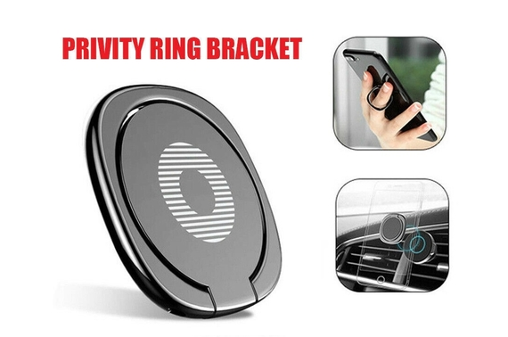 iRing Phone Ring Finger Holder Car Mount Hook