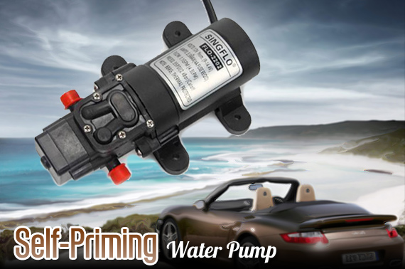 12V 4.3Lpm Self-Priming Water Pump