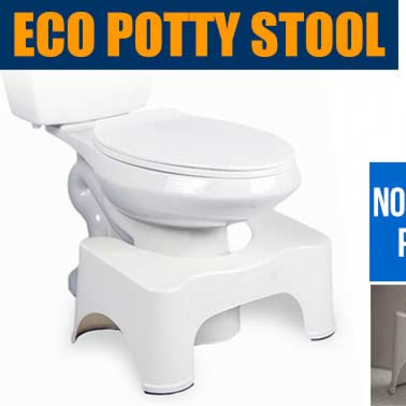 Sit and Squat Bathroom Potty Eco Toilet Stool