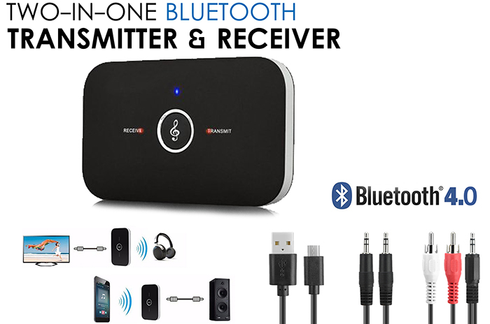 2 in 1 Bluetooth 4.0 Transmitter & Receiver
