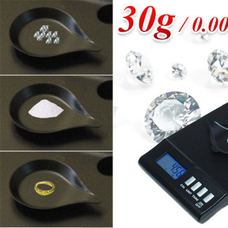 Digital Jewellery Pocket Precision Scale 30g/0.001g