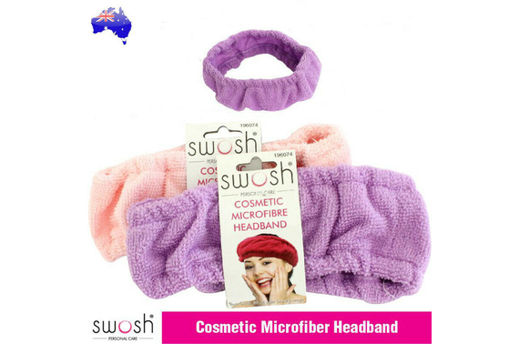 Spa Bath Shower Makeup Wash Face Headband Hairband Cosmetic Microfiber Cotton