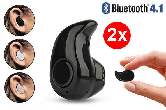 FREE Ozstock Deal: 2x Mini Wireless Bluetooth 4.1 In-ear Headset
